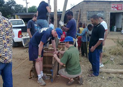 Mamelodi Bus Stop – Rammed Earth