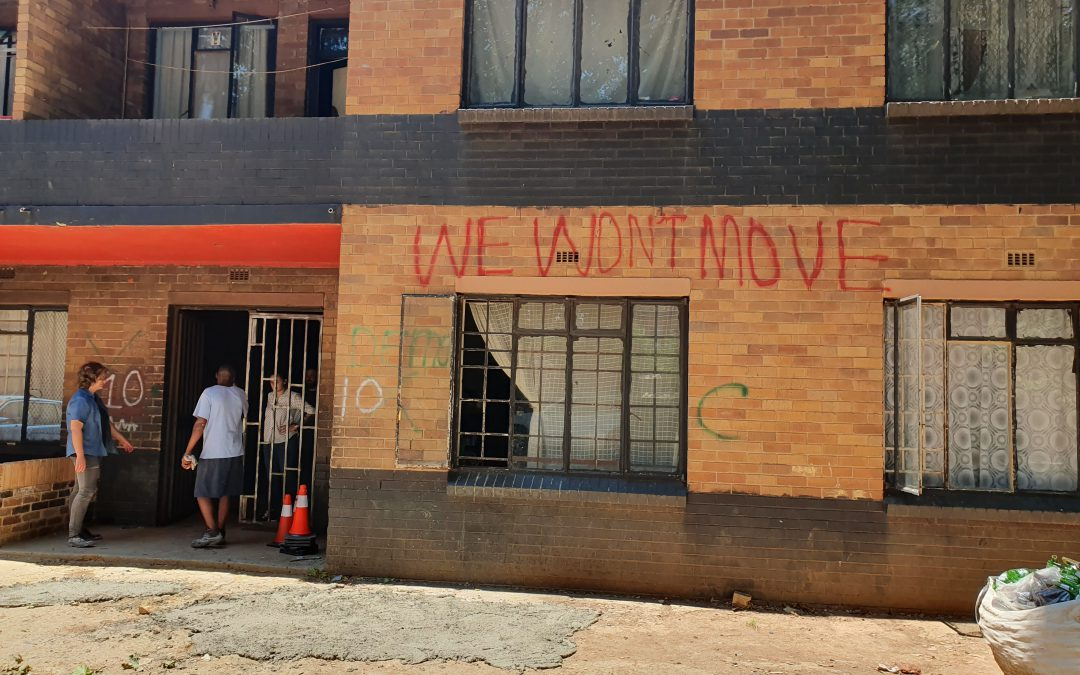 6 Months Later:  Community Engagement in design processes in Joburg Inner City